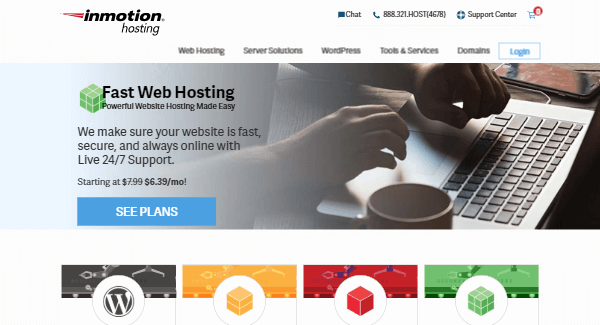 InMotion - Zero-Downtime Hosting