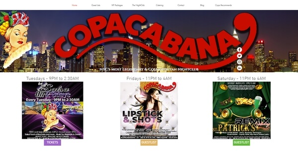Copacabana Night Club- ը