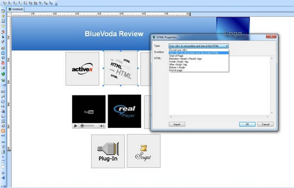 Bluevoda Code Editing