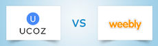 UCoz vs Weebly