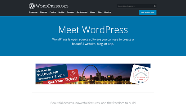 WordPress - Self-Hosted Weebly Alternative (CMS)