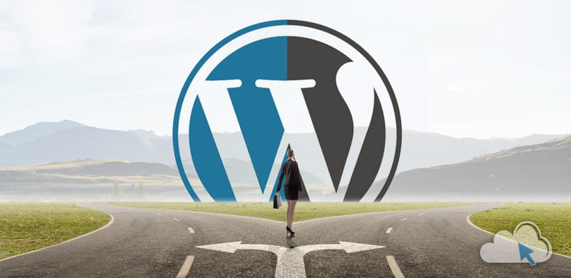 WordPress.com εναντίον WordPress.org